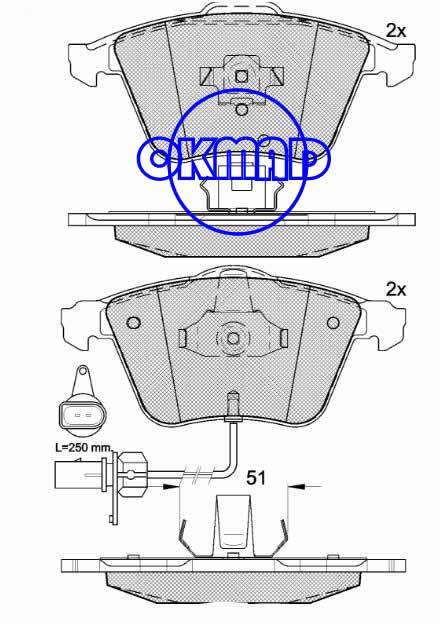 AUDI A4 A6 A8 SEAT EXEO Brake pad FMSI:7796-D1111 OEM:4E0 698 151 F FDB1629 FDB1827 TRW:GDB1554/GDB1617/GDB1659 WVA:23763/23801/24021,F1111