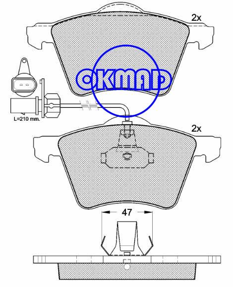 FORD GALAXY SEAT ALHAMBRA VW TRANSPORTER IV SHARAN Brake pad FMSI:7884-D982 8540-D1424 OEM:7D0698151A 1151377 FDB1484 FDB1654 TRW:GDB1459 GDB1538 WVA:23034 23035 23036 23418 23419, F982