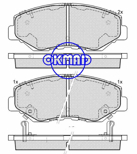 ACURA ILX HONDA ACCORD CIVIC CR-V Element Fit Pilot Brake pad FMSI:7795-D914 7795-D958 7844-D943 OEM:45022-S9A-A00 FDB1658 TRW:GDB3325 GDB3627 WVA:23856 23868 23869 23870, F943