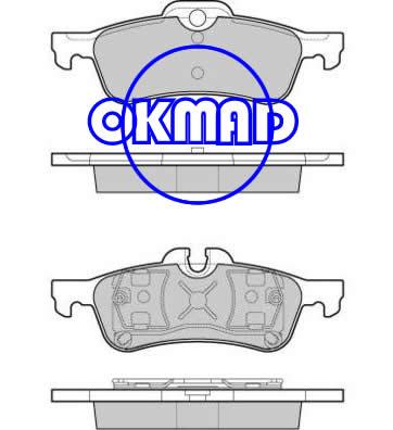 MINI MINI Convertible Cooper JC S Brake pad FMSI:7842-D940 7842-D1060 OEM:34 21 67 70 252 FDB1500 FDB1676 TRW:GDB1477 GDB1561 WVA:23716 23717 24043, F940