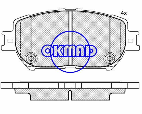 LEXUS GS300 IS250 TOYOTA CAMRY SOLARA Convertible REIZ I WISH MPV Brake pad FMSI:7787-D908 7787-D1052 OEM:04465-30340 FDB1620 TRW:GDB3314 GDB7224 WVA23806 23928, F908