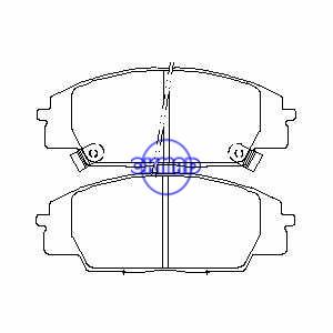 HONDA Civic Si Hatchback S2000 ACCORD Mk ACURA RSX Brake pad FMSI:7702-D829 OEM:45022-S2A-E01 FDB1444 TRW:GDB3250 WVA:23178 23179 23530 23531, F829