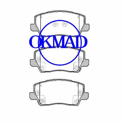 KIA PICANTO III MORNING EURO STAR (JA) Hatchback Pastiglie freno OEM:58101-G6A30 WVA:22904 22905 22906, FW22905