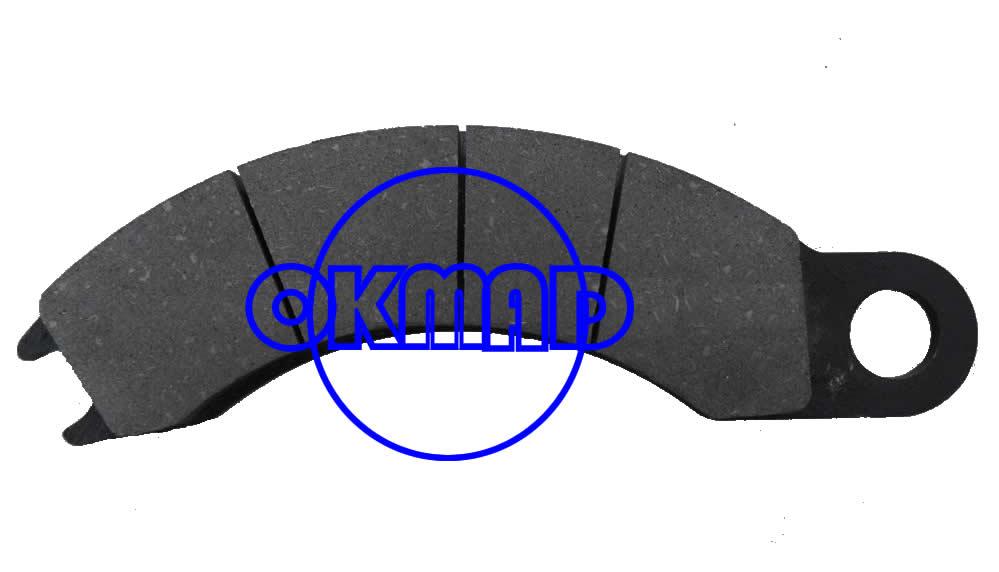 Volvo Pastiglie freno WVA:52095, FW52095