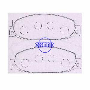 MITSUBISHI Canter pastiglia freno OEM: MB295692 MKD6027M GDB7589 AN-300WK, FA300