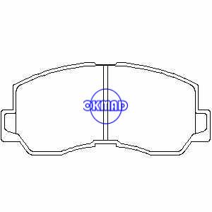 MITSUBISHI GALANT L300 Piattaforma/telaio Box PAJERO SAPPORO Pastiglia freno OEM:MB193295 FDB634 GDB785 WVA:20047 21109 MKD6014, FD6014