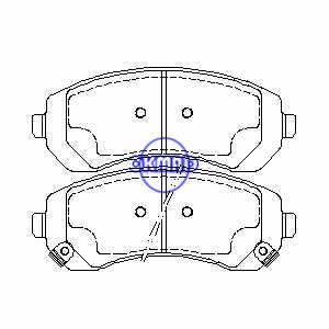 BUICK Rendezvous CHEVROLET Venture OLDSMOBILE Silhouette PONTIAC Aztek Montana AWD Pastiglie freno FMSI: 7720-D844 OEM: 10434258, F844