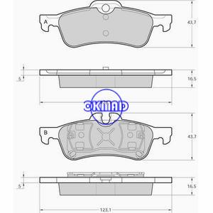 MINI MINI Cabrio Cooper JC S Pastiglie freno FMSI:7842-D940 7842-D1060 OEM:34 21 67 70 252 FDB1500 FDB1676 TRW:GDB1477 GDB1561 WVA:23716 23717 24043, FF1500