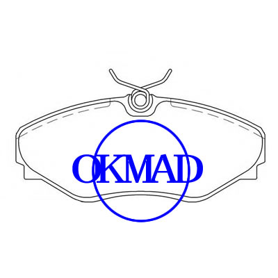 Mahindra Scorpion Pick Up RENAULT AVANTIME ESPACE III Pastiglia freno OEM: 6025371662 FDB4176 GDB7902 WVA: 25823, FF4176