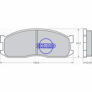 KIA Besta Bongo Box K2500 K2700 MAZDA E-SERIE Box Bus Pastiglie freno FMSI:8319-D1199 OEM:0K60A-33-28Z SF04-33-28Z FDB547 FDB757 GDB737 GDB983 WVA:20002 20191 20192, FF547