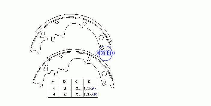 Ok Bs047r China Auto Brake Pads Manufacturer