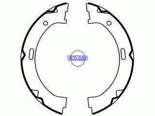 Dodge DAKOTA 2WD 4WD Drum Brake shoes FMSI:1543-S803, OK-BS578