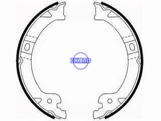 CHRYSLER VOYAGER IV DODGE CARAVAN Drum Brake shoes FMSI:2202-S812 2187-S761 OEM:5019802AA GS8759, OK-BS582