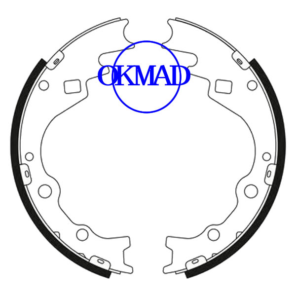 HYUNDAI H100 RENAULT Kangoo (Latin America) Drum Brake shoes set FMSI:1399-S1026 OEM:58305-4FA10