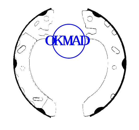 CHRYSLER Cirrus DODGE Stratus PLYMOUTH Breeze Drum Brake shoes set FMSI:1481-S716 OEM:4864304