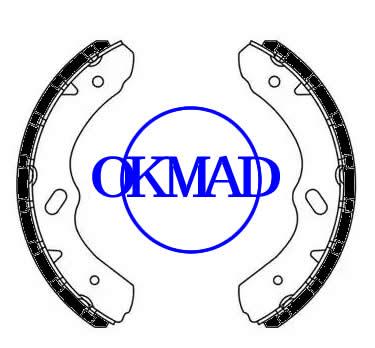 CHEVROLET TRUCK W3500 Tiltmaster GMC TRUCK W4500 W5500HD Forward ISUZU COMMERCIALE Ganasce freno FMSI: 1534-S792 OEM: 8-97188455-0