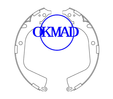 CHEVROLET TRUCK Silverado 1500 GMC TRUCK Sierra GMC SIERRA Set ganasce freno a tamburo FMSI: 1643-S960 1644-S960 OEM: 25976968 25870982