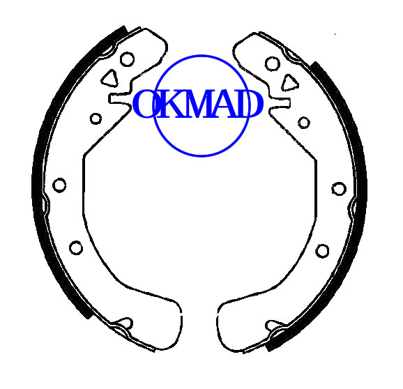 CHEVROLET TRUCK Tornado (Latin America) Drum Brake shoes set FMSI:1669-S998 OEM:93284576 FSB545 GS8637